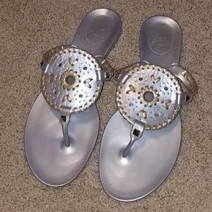 Jack Rogers Georgica jelly sandals 8M